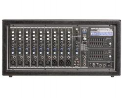 Topp Pro - 2x500 Watt 6 Mono 4 Stereo 14 Kanal Power Mikser
