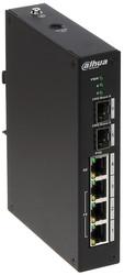 Dahua - 4 Port PoE Switch (3FE PoE +1GE PoE +2GE SFP)