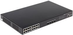Dahua - 16 Port PoE Gigabit Yönetilebilir Switch (16GE PoE +4 GE SFP)