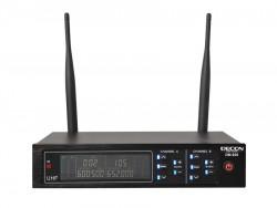 Decon - 2 Kanal UHF Telsiz Mikrofon Receiver