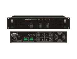 Decon - 70-100 Volt 2x100 Watt Trafolu 2 Kanal Power Amfi