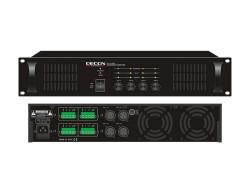 Decon - 70-100 Volt 4x100 Watt 4 Kanal Trafolu Power Amfi