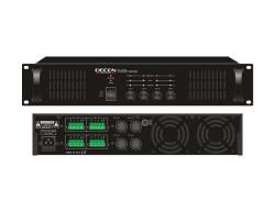 11 - 70-100 Volt 4x200 Watt 4 Kanal Power Amfi,