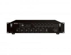 Decon - 200 Watt 6 Bölge Kontrollü Trafolu / 4-16 Ohm Mixer Amfi