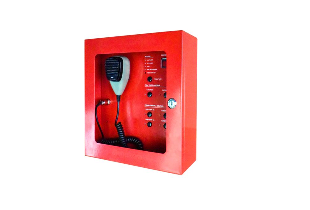 Decon - Fireman Microphone, Built-in EVAC/Alert Message