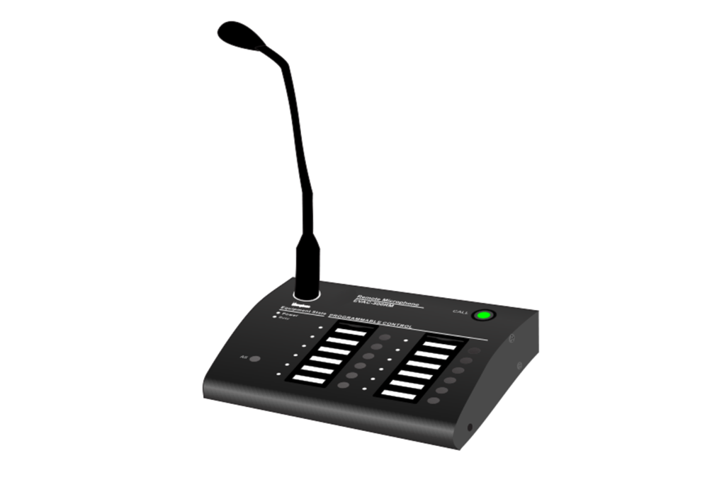 Decon - Remote Paging Microphone