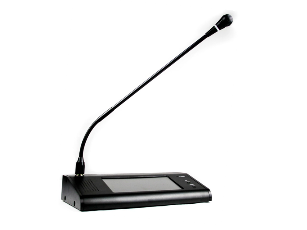 Decon - Remote Paging Microphone, Touch Screen Type