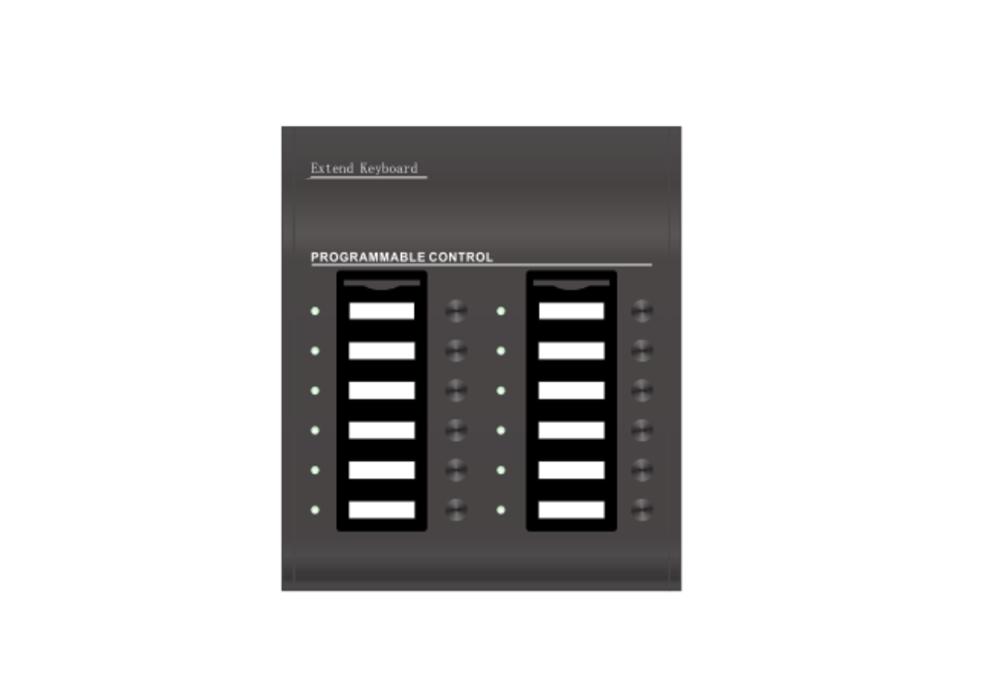 Decon - 12 Zone Keypad for remote microphone DP-EVAC-1000RP