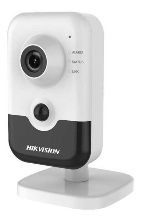 Hikvision - 4.0MP 2.8mm H.265+ Ses+SD Kart 10Mt. IR Wi-Fi Küp Kamera