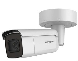 Hikvision - 4.0MP 2.8~12mm Motorize Ses+SD Kart 50Mt. IR Bullet İP Kamera