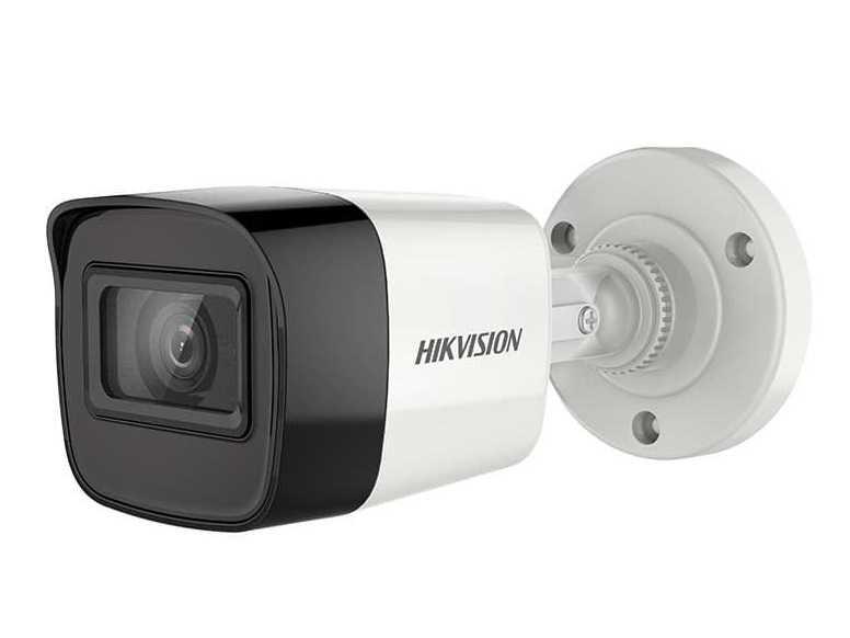 Hikvision - 2.0MP 2.8mm Lens 20Mt. Hibrit IR Bullet Kamera - SESLİ