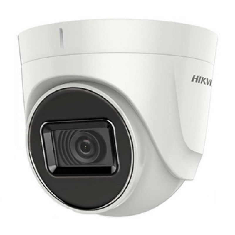 Hikvision - 2.0MP 2.8mm Lens 20Mt. Hibrit IR Dome Kamera - SESLİ