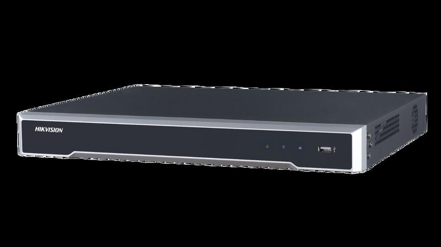 Hikvision - 8 Kanal H.265+ 2xSata 8MP 4K NVR