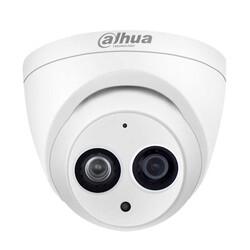 Dahua - 2.0MP 3.6mm Lens W.Proof 50Mt. IR Dome HD-CVI Kamera - Sesli