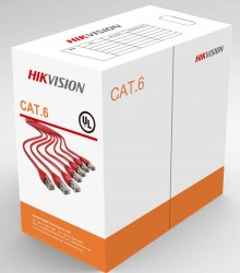 Hikvision - 305 m CAT6 UTP Network Cable (Solid Copper, 0.55 mm)