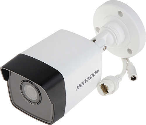 Hikvision - 2.0MP 2.8mm H.265+ SD Kart 30Mt. IR Bullet İP Kamera - SESLİ