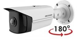 Hikvision - 4 MP 180° Süper Geniş Açı Bullet Kamera (H.265+, 20mt)