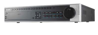 64 Kanal H265+ 320Mbps 8xSata eSATA 2xHDMI RAID NVR