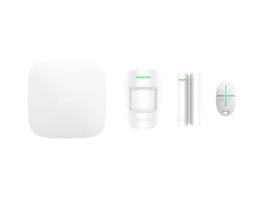 AJAX - Kablosuz Alarm Seti (GSM Modülü+Network Mod.Dahil)