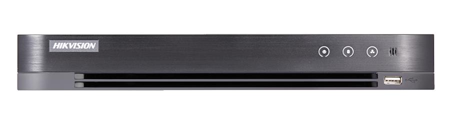 Hikvision - 4 Kanal Acusense 4.0MP H265 Pro 1xSata 1xSes Hibrit DVR