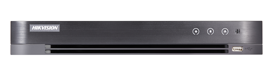Hikvision - 8 Kanal Acusense 4.0MP H265 Pro 1xSata 1xSes Hibrit DVR