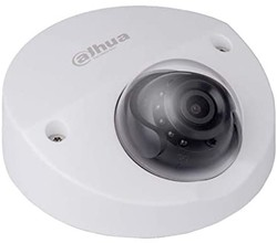 Dahua - 2.0MP 2.8mm WDR Starlight W.Proof IR Dome IP Kamera - Sesli