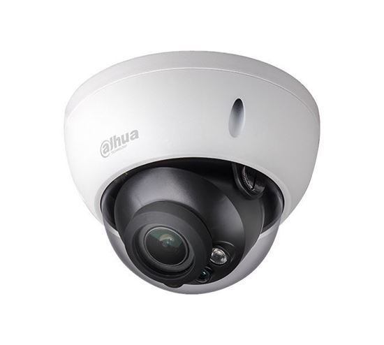 Dahua - 8.0MP 2.7~12mm Motorize 50Mt. H.265 WDR 50Mt. IR H.265 IP Dome Kamera