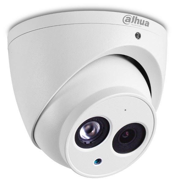 Dahua - 2.0MP 2.8mm H265 50Mt. IR Starlight IP Dome Kamera - e-PoE