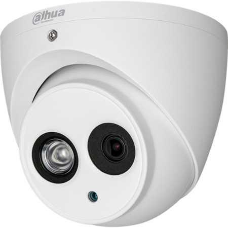 Dahua - 4.0MP 2.8mm H265 50Mt. WDR IR Dome IP Kamera - Sesli