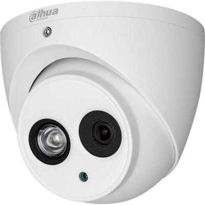 8.0MP 4.0mm H265+ WDR Ses SD Kart 50Mt IR IP Dome Kamera - Sesli