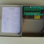 Mervesan - 9 Port Çıkışlı 12 VDC 5 Amper / Akü Şarj