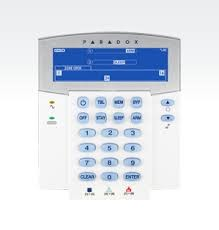 Paradox - 32 Zone Kablosuz Sabit LCD Keypad Modülü