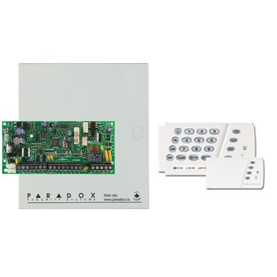 8 Zone, 1 Pgm, 2 Kısım Kontrol Paneli + K636 Led keypad