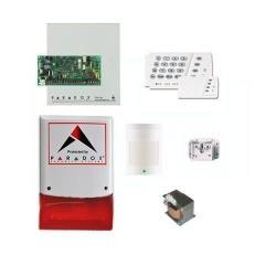 Paradox - SP-4000 Kablolu Hırsız Alarm Seti (Panel + Keypad + Siren + Trafo + 1 Adet Pır Dedektörü)