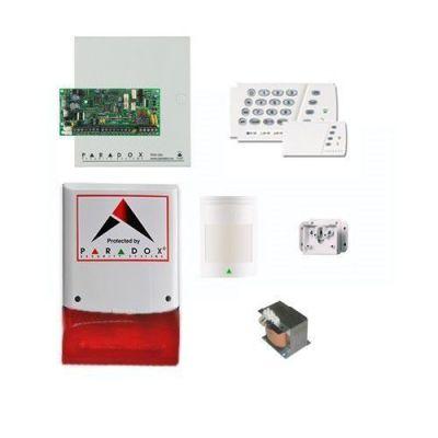 SP-4000 Kablolu Hırsız Alarm Seti (Panel + Keypad + Siren + Trafo + 1 Adet Pır Dedektörü)