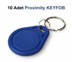 Bullet - Proximity Anahtarlık KEYFOB (10 lu Paket)