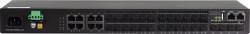 Solidway - 8 Port SFP Slots + 4 x Combo (RJ45/ SFP) + 4 x 10G SFP+ Ports (stacking), Omurga Switch