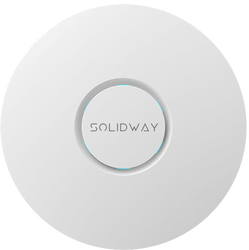 Solidway - 2.4 & 5 GHz 1300Mbps 802.11ac/a/b/g/n WAVE-2 Tavan Tip İçmekan Access Point