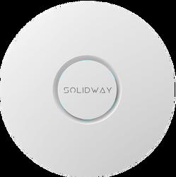 Solidway - 2.4 & 5 GHz 1300Mbps 802.11ac/a/b/g/n WAVE-2 Tavan Tip İçmekan Access Point