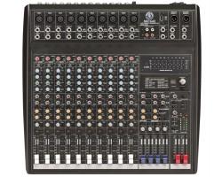 Topp Pro - 3 Mono 6 Stereo 16 Kanal Deck Mikser