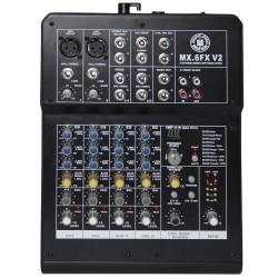 Topp Pro - 2 Mono 2 Stereo Toplam 6 Kanal Deck Mikser