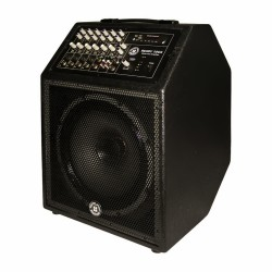Topp Pro - 12 inç 30cm 2 Yollu 8 Kanal Mixer'li Max.600 Watt Aktif Çanta Kabin Hoparlör