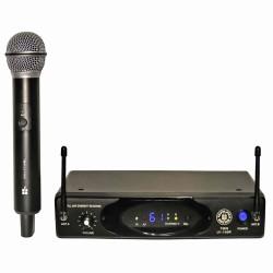 Topp Pro - UHF Tek Anten Analog Alıcı El Tipi Telsiz Mikrofon