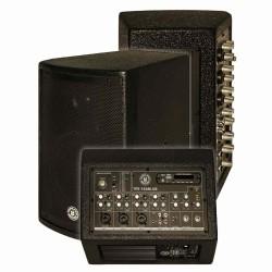 Topp Pro - 6 inc 16cm 2 Yollu Bluetooth Kontrollü Max.140 Watt Aktif Kabin Hoparlör