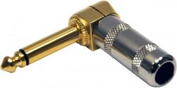 Contech - 6.3MM Mono L Tipi Metal Gold