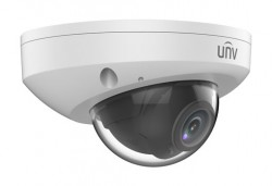UNV - 2.0MP 2.8mm Ultra H265 15Mt. SDKart, Alarm, Dahili Ses Vandal-Resistant IR Mini İP Dome Kamera