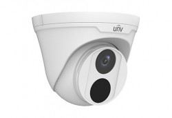 UNV - 5.0MP 2.8mm Ultra H265 30Mt. StarLight Sesli IR İP Dome Kamera