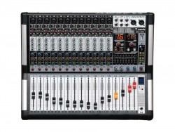 Westa - 12 Kanal Mono 99DSP Dijital Efekt Power Mixer (2x500Watt)