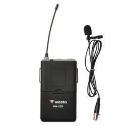 Westa - UHF Yaka Mikrafonu (WM-258 ile birlikte çalışır.)