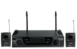 Westa - UHF 2 Yaka Telsiz Mikrofon Seti